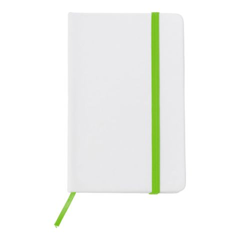 Soft Feel Notebook With A White PU Cover