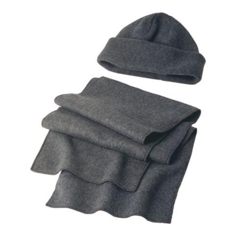 Fleece Cap & Scarf