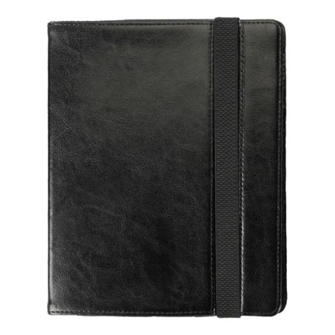 IPad Holder In Black Bonded Leather