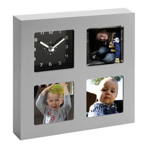Analogue Clock, Photo Holder