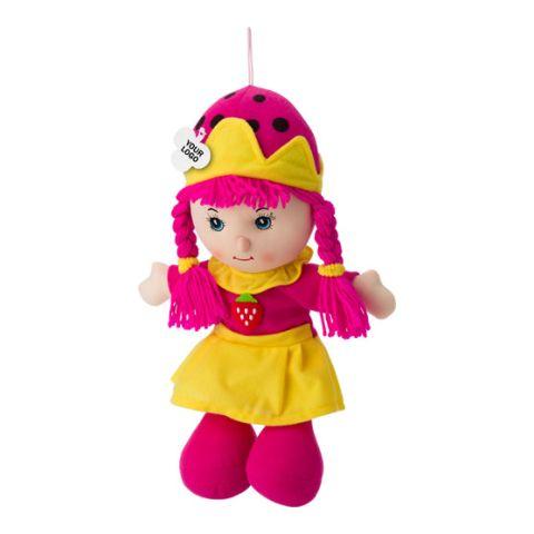 Cotton Stuffed, Girl Shaped Doll