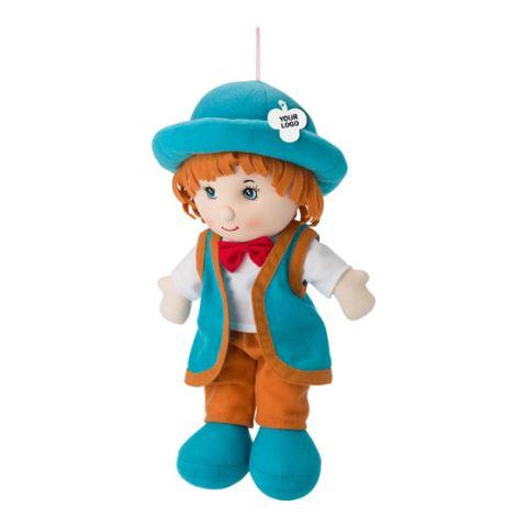 Cotton Stuffed, Boy Shaped Doll