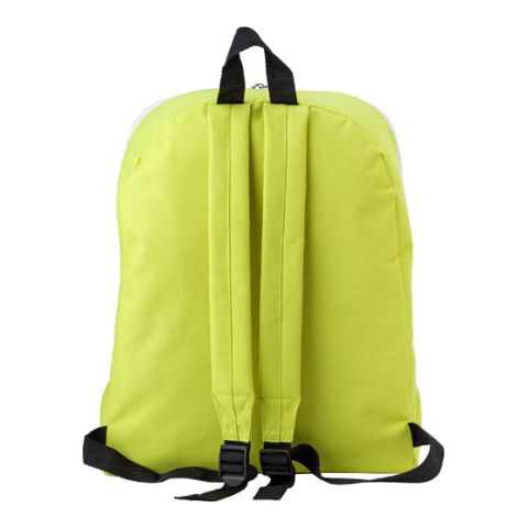 Polyester Backpack With A Zipped Large Compartment