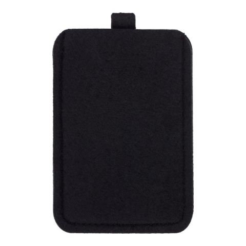 Felt Mobile Phone Pouch  Black | Without Branding