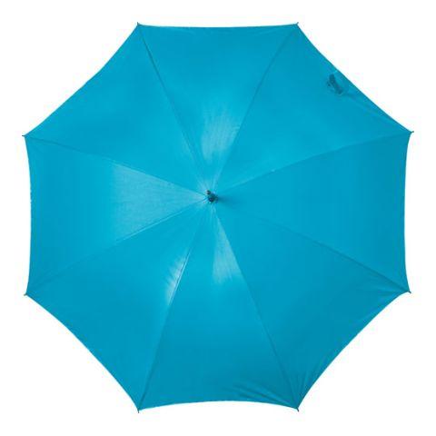 Automatic Neon Nylon (190T) Storm Proof Umbrella Neon Blue | Without Branding
