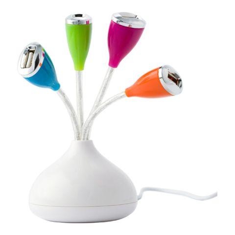 USB Hub With Four Colourful Ports 2