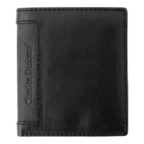 Leather Charles Dickens Wallet