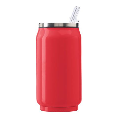 Leak Proof Drinking Can With Build In Straw