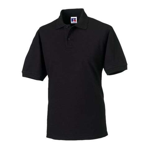 Durable Polo made of mixed fabric