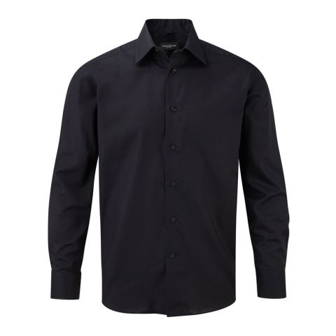 Organic Long Sleeve Oxford Shirt