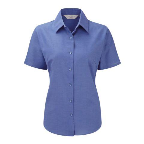 Short Sleeved Oxford Women's Blouse