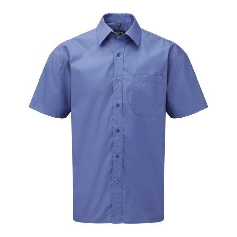 Short Sleeved Popeline Shirt