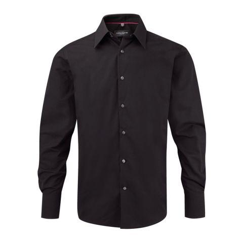 Bodycon Men's Shirt Long Sleeve
