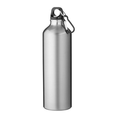 Pacific Bottle With Karabiner  Silver | Without Branding