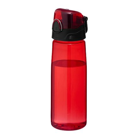 Capri Sports Bottle  Transparent - Red | Without Branding