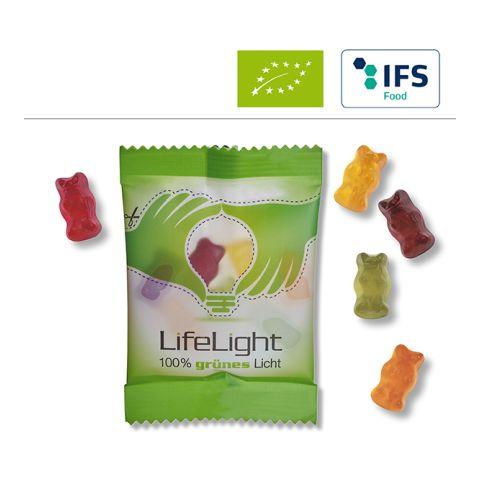 Organic fruit gum bears