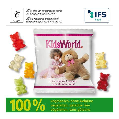 XXL-Veggie-Bears with compostable bag