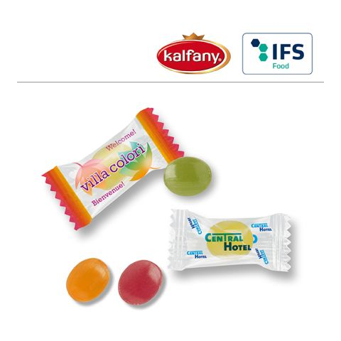 Mini candies in Flow Pack