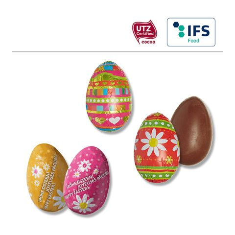 Chocolate Easter egg standard motifs