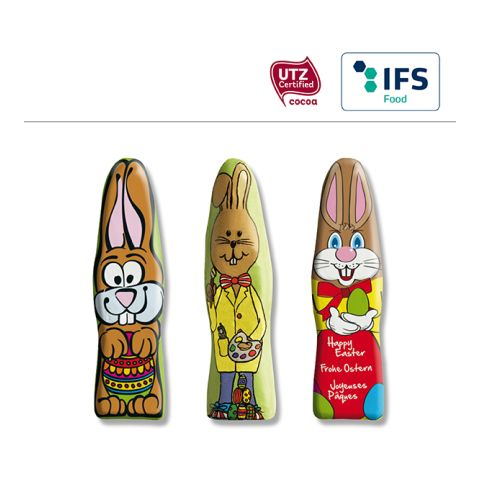 MINI chocolate Easter Bunny standard motifs
