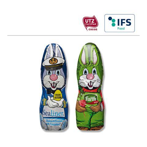 MIDI chocolate Easter Bunny