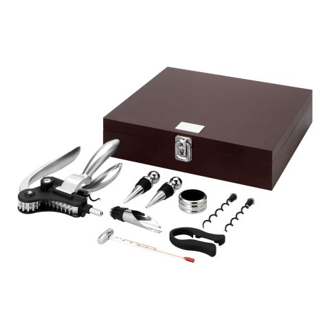 Executive 9-Piece Wine Set  Brown | Without Branding