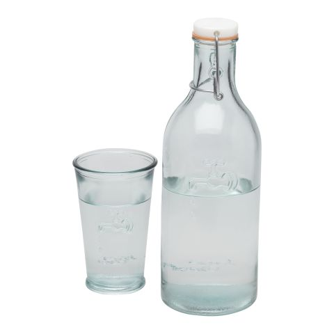 Ford 970 ml water carafe made from recycled glass