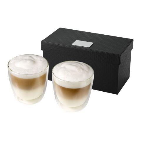 Boda 2-piece glass coffee cup set