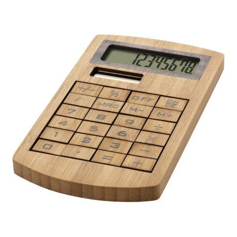 Eugene calculator made of bamboo