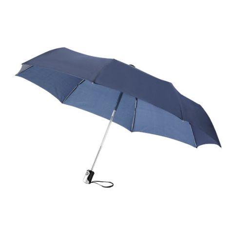 "21.5"" 3-Section Auto Open & Close Umbrella"