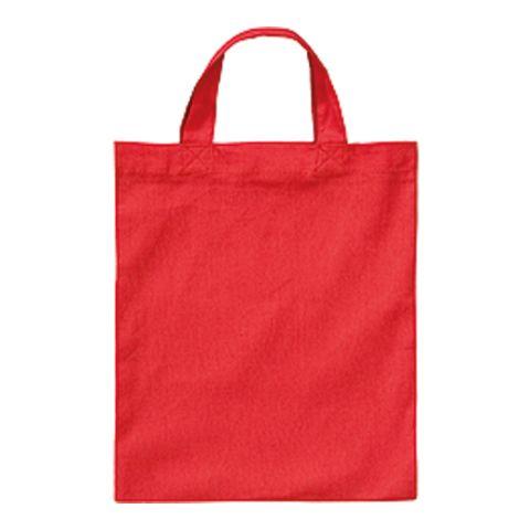 Cotton Bag 22x26 cm Short Handle