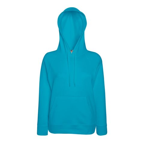 Lady Fit Lightweight Hooded Sweat