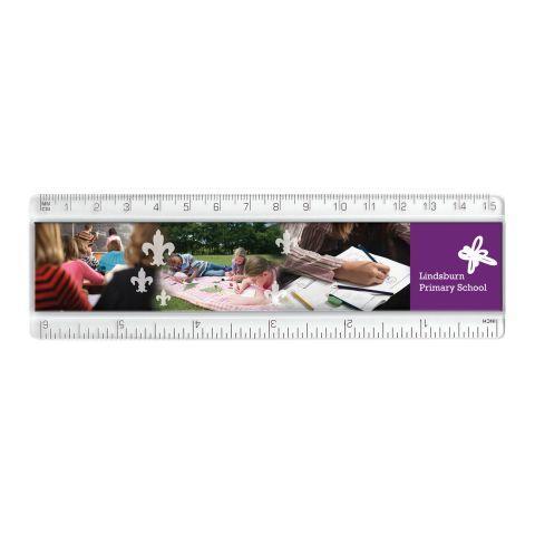 """15cm/6"""" Plastic Insert Ruler"""