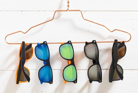 Logo Printed Sunglasses